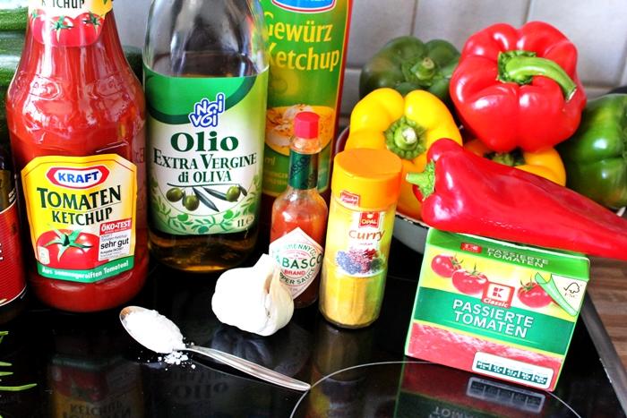 Zucchini-Paprika Chutney