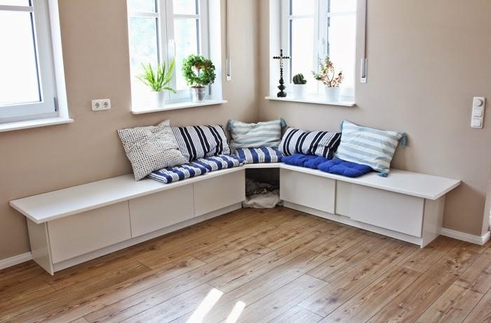 Bekannt Wir bauen ein Haus: Ikea Hack Tutorial - Essecke - Fashion Kitchen EP35