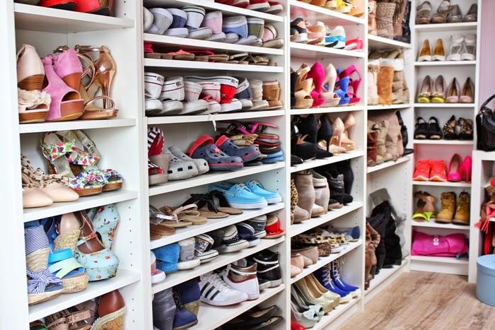 Mein Ankleidezimmer Der Schuhschrank The Shoe Closet
