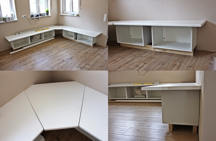 Wir bauen ein Haus: Ikea Hack Tutorial - Essecke - Fashion Kitchen