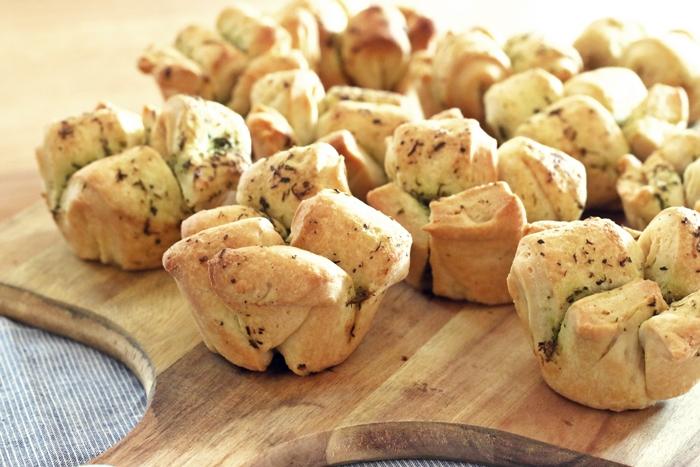 Kräuterfaltenbrot Muffins