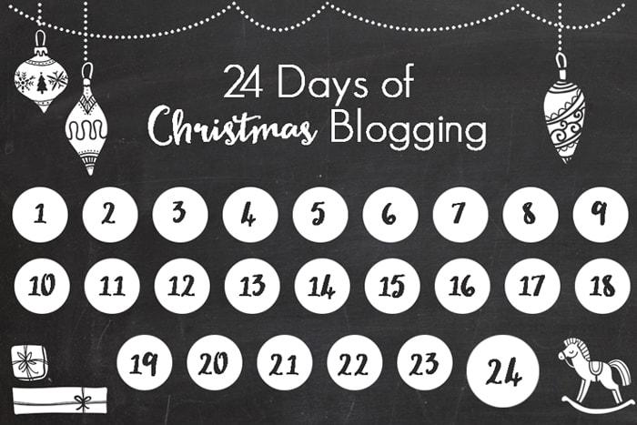 24 Days of Christmas Blogging