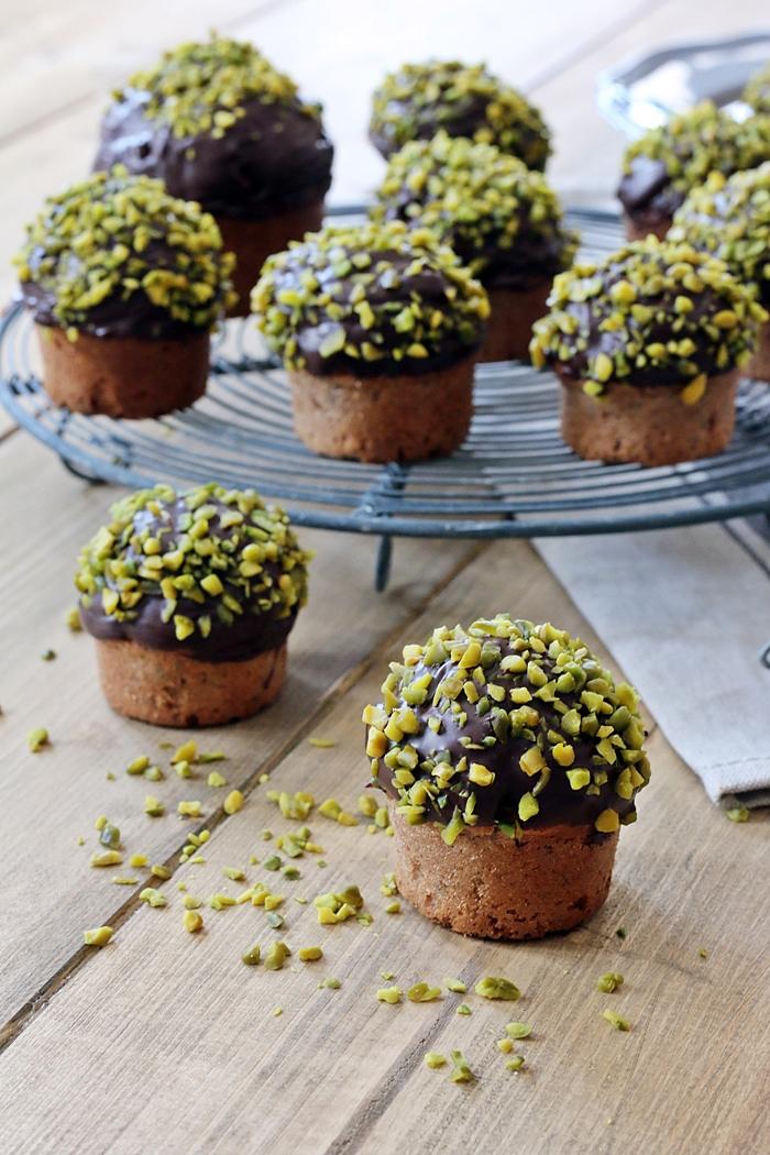Zucchini-Erdnussbutter Muffins