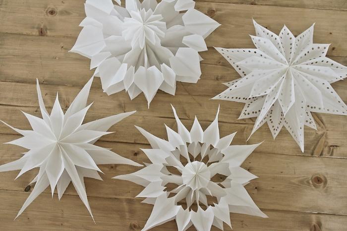 Diy Weihnachtliche Papiersterne Aus Butterbrottüten