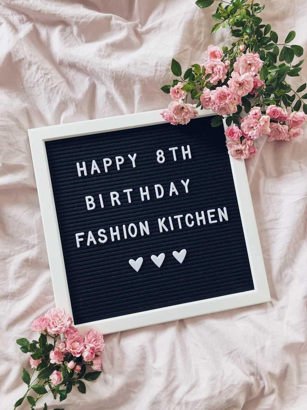 8 Jahre Fashion Kitchen