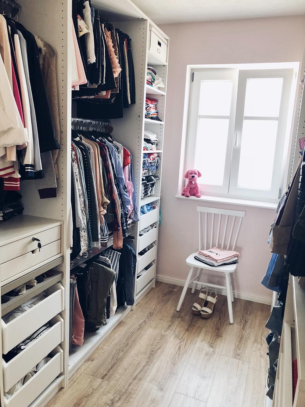 Ein Einblick in mein Ankleidezimmer & die neu Zadaa App