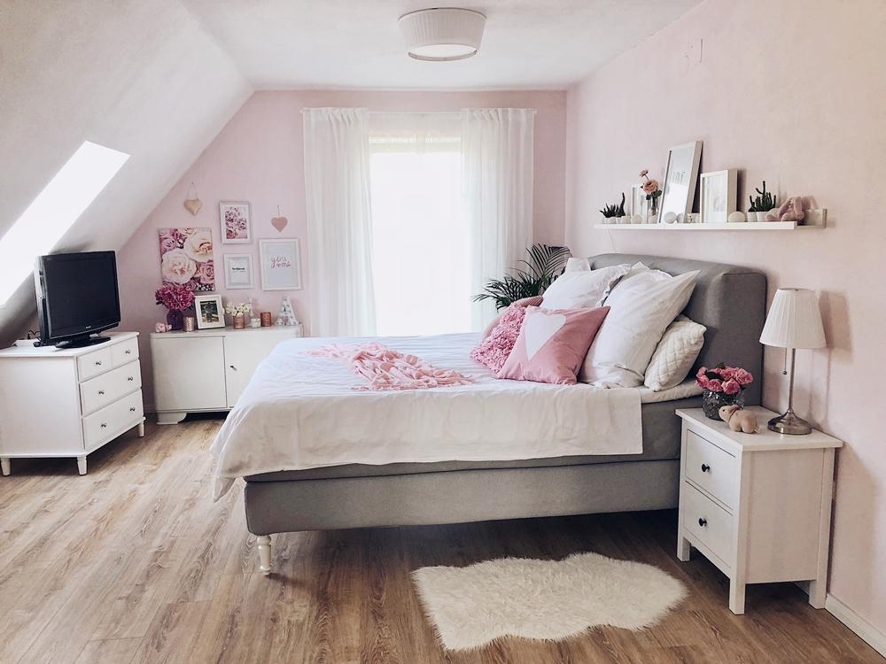 Schlafzimmer Update - Boxspringbett & Interior