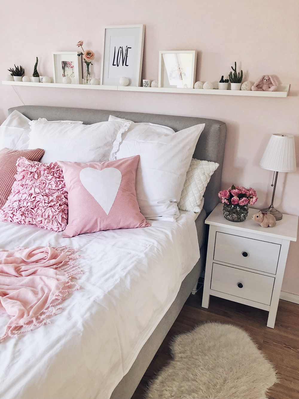 Schlafzimmer Update - Boxspringbett & Interior Fashionkitchen Ikea