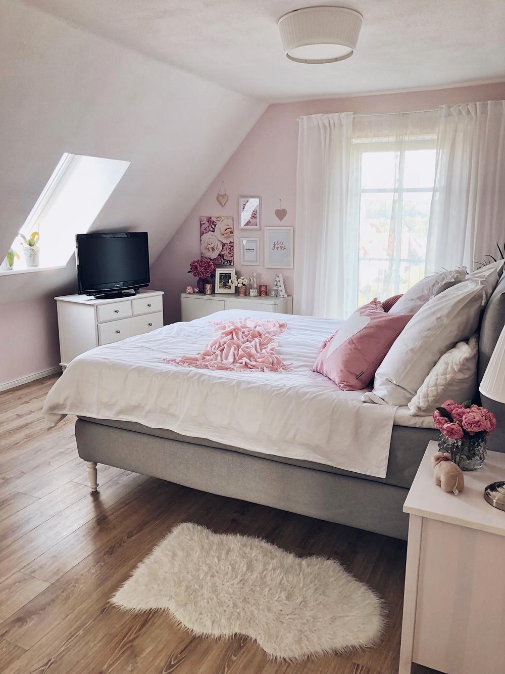 Schlafzimmer Update - Boxspringbett & Interior - Fashion Kitchen