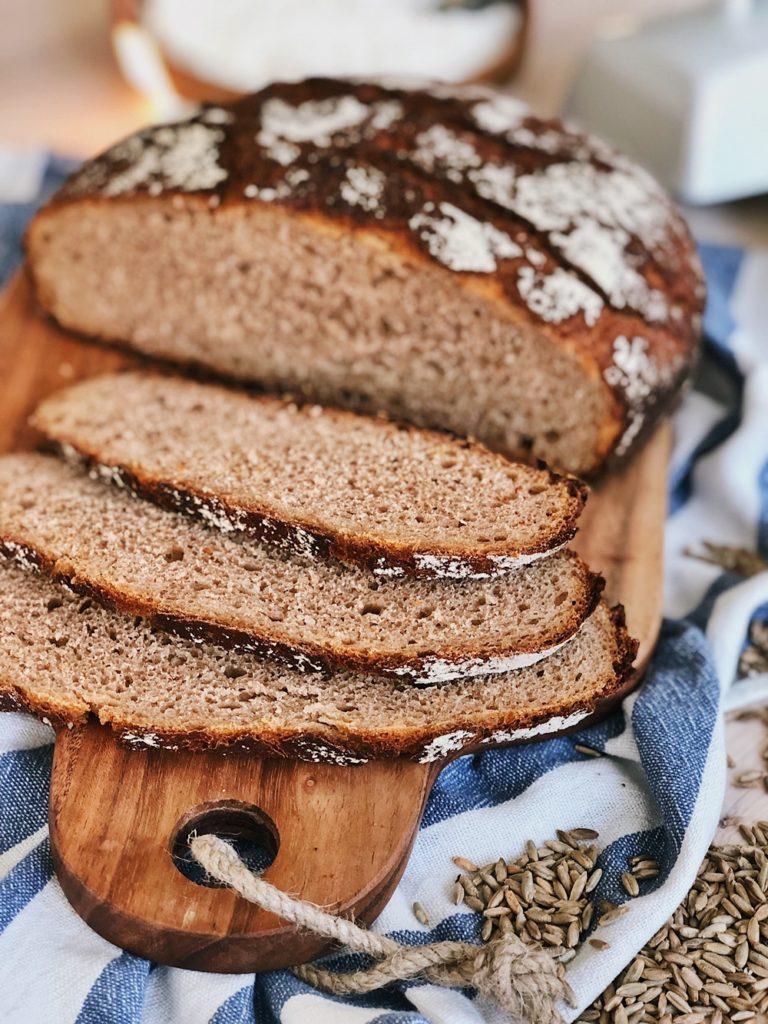 Dinkel Knusper Brot