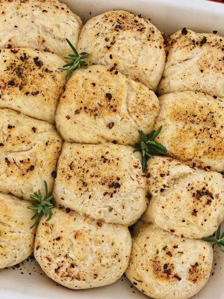 Kräuter-Kartoffel-Brötchen