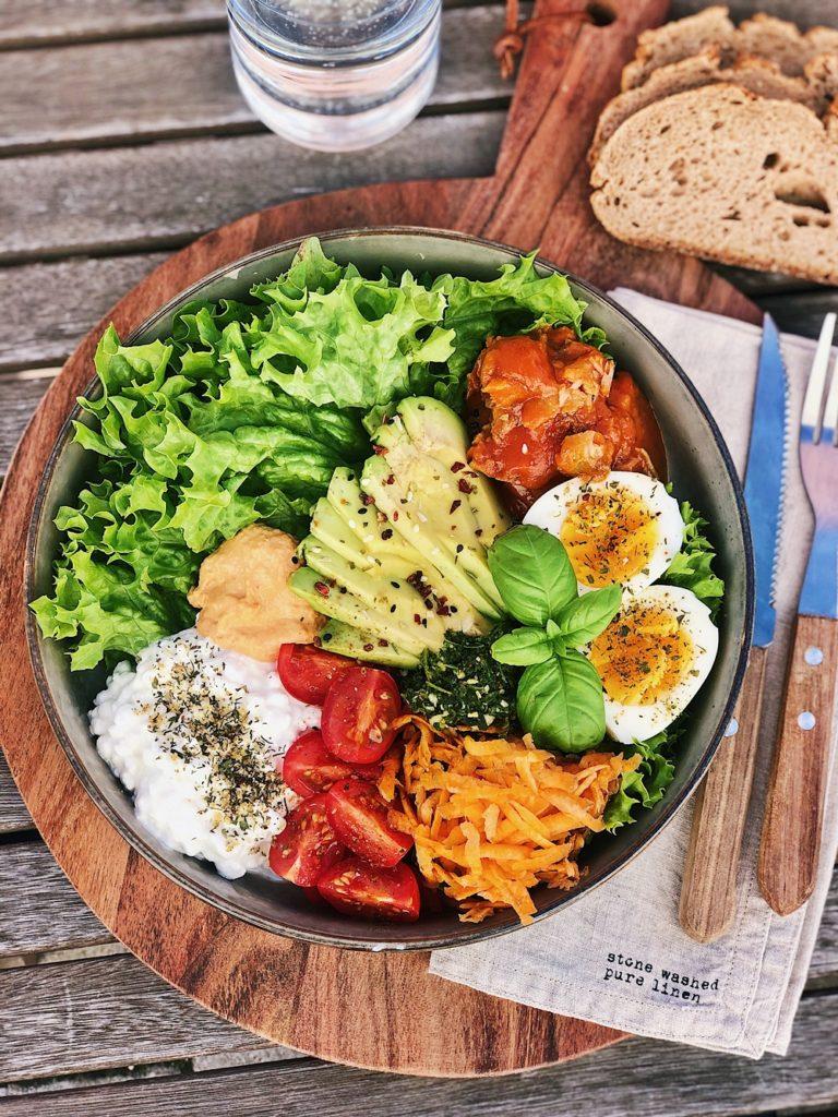 Sommer-Salat-Bowl
