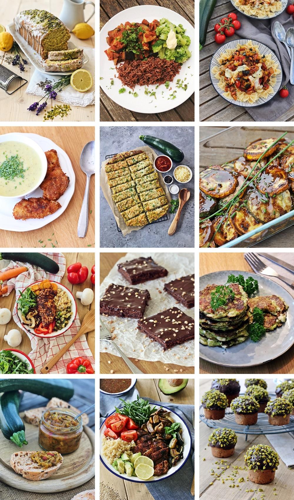 Die besten Zucchini Rezepte-fashionkitchen-zucchini-kuchen-suppe-auflauf-breadsticks-bowl-relish-chutney