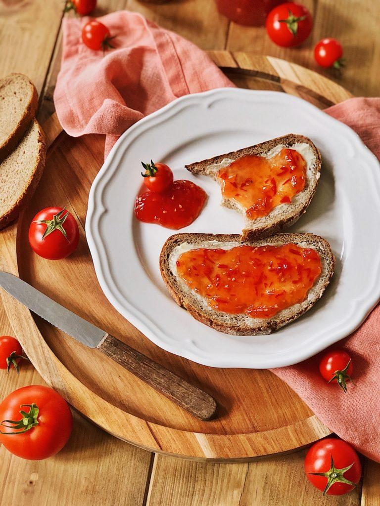 Tomaten Marmelade selber machen-einkochen-tomatos-marmelade-jam-tomaten konfitüre-fashionkitchenkocht-selbstgemacht-grundrezept_2