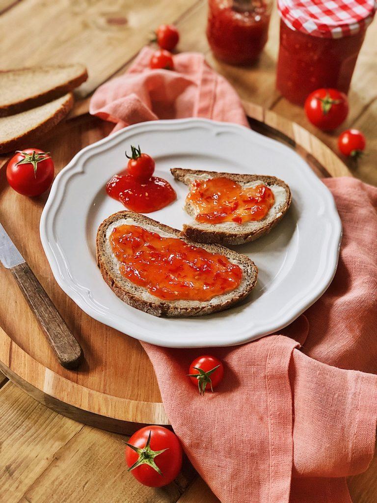 Tomaten Marmelade selber machen-einkochen-tomatos-marmelade-jam-tomaten konfitüre-fashionkitchenkocht-selbstgemacht-grundrezept_4