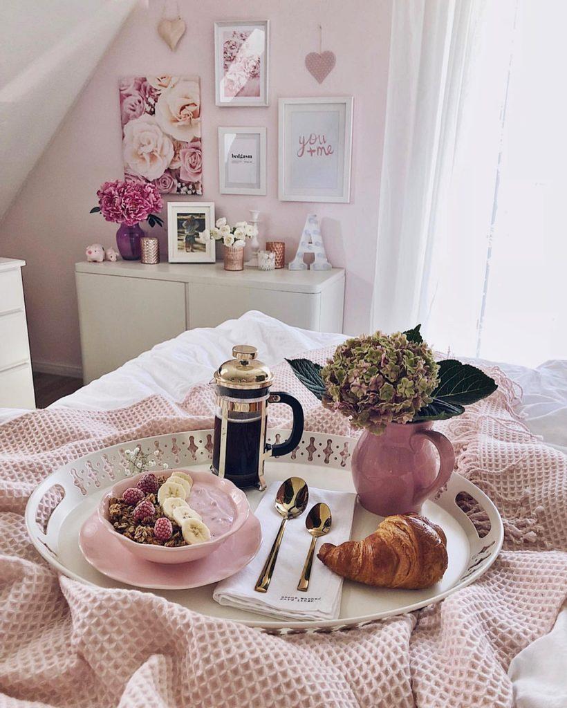 Life Update September 2019 fashionkitchen Frühstück breakfast bedroom schlafzimmer interior