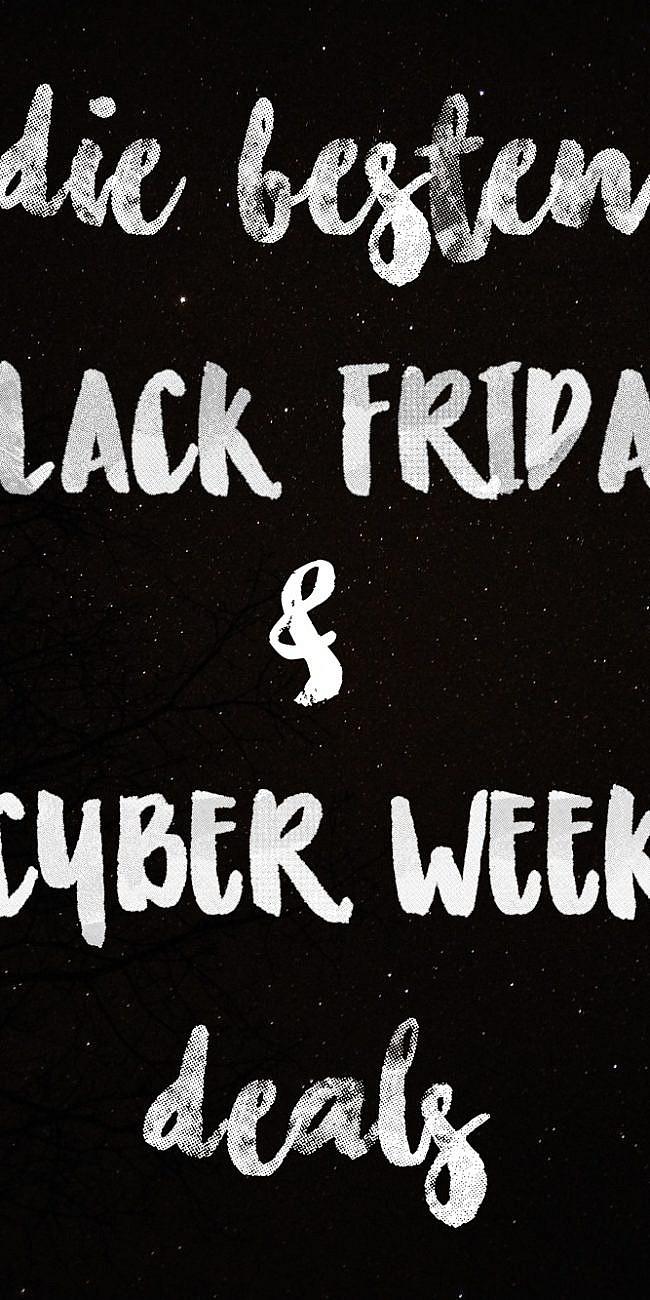 Die besten Black Friday & Cyber Week Deals