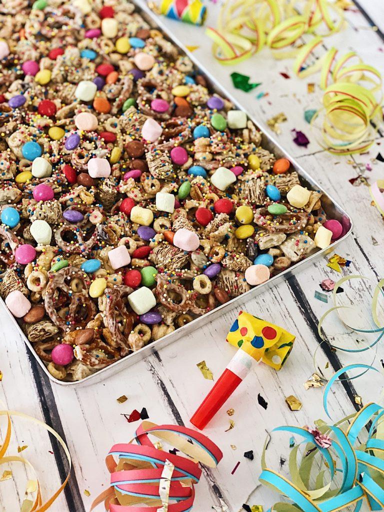 Konfetti Crunch zu Karneval, Fastnacht und Fasching
