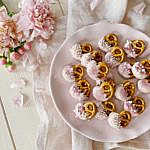 Schoko-Karamell-Brezeln zum Valentinstag