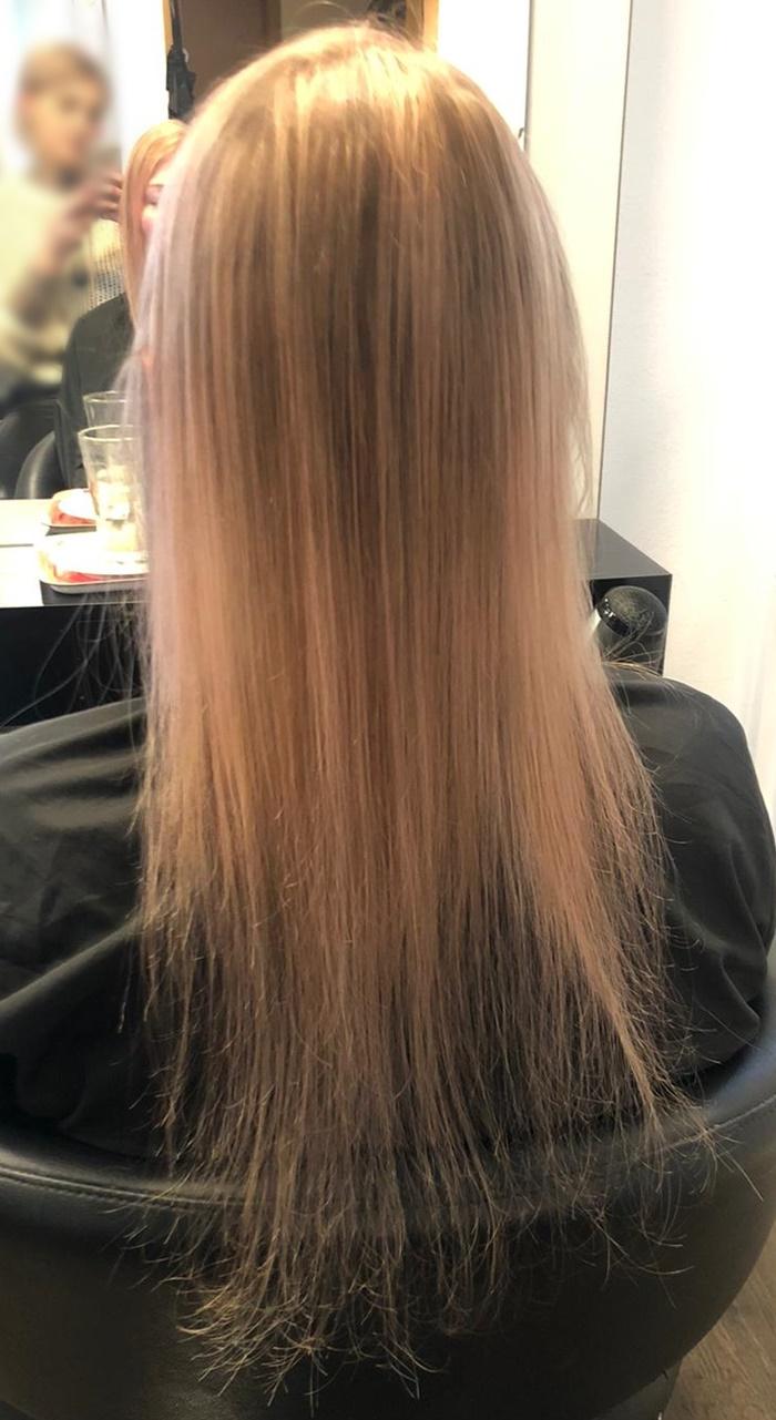 Haare vorne abgebrochen