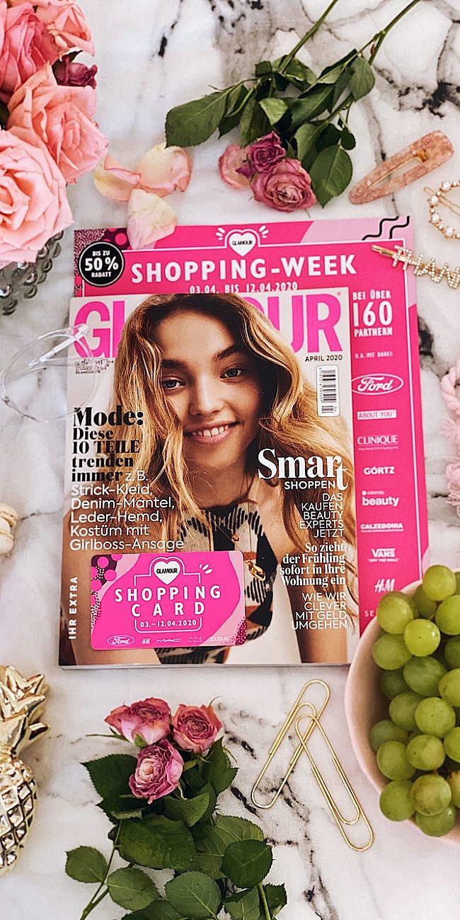 glamour shopping week - April 2020