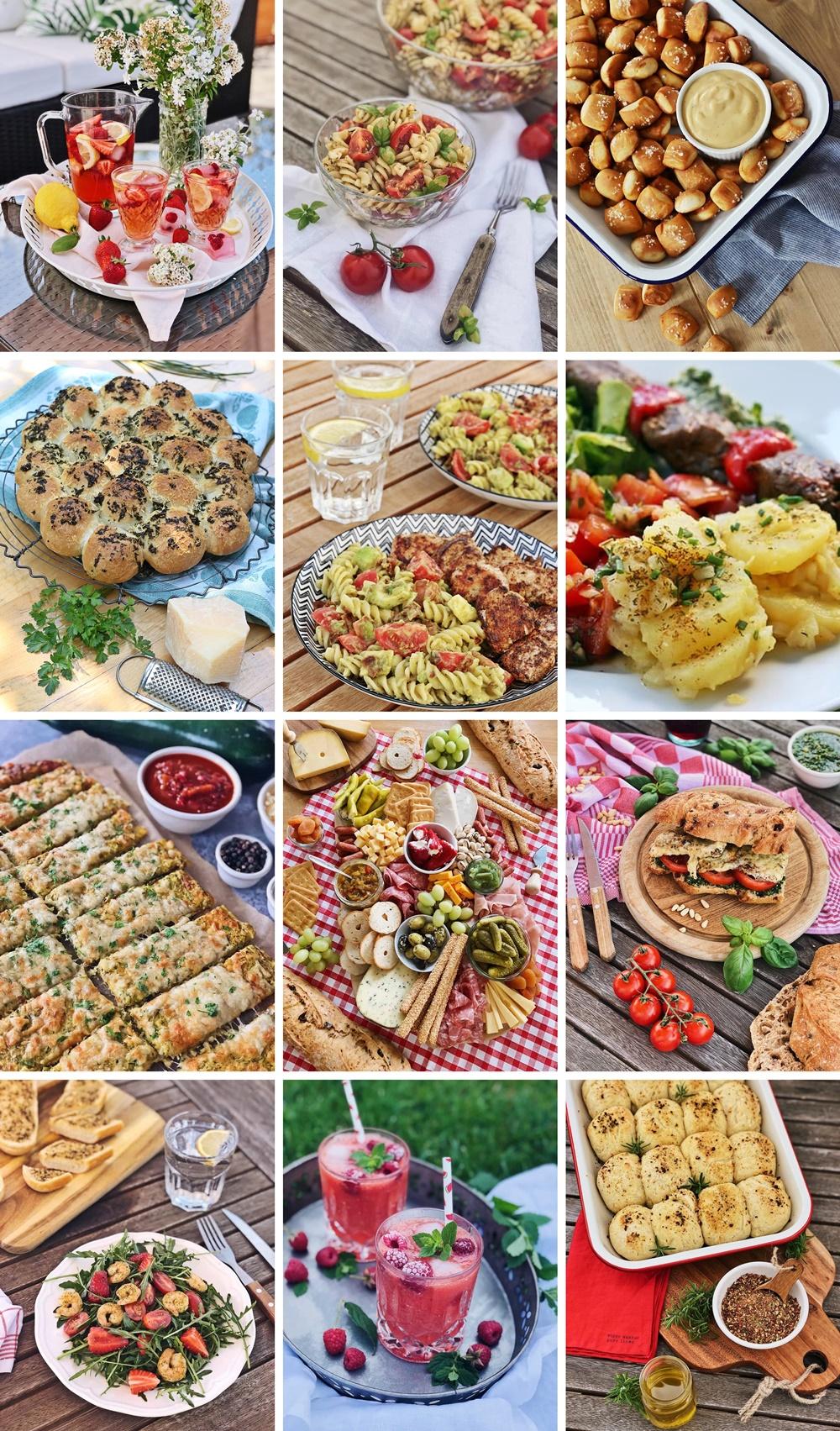 Die besten Brote, Salate, Snacks & Drinks für die Grillsaison