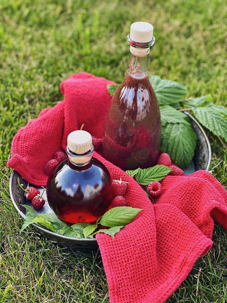 Himbeer Essig oder Himbeer Balsam selber machen