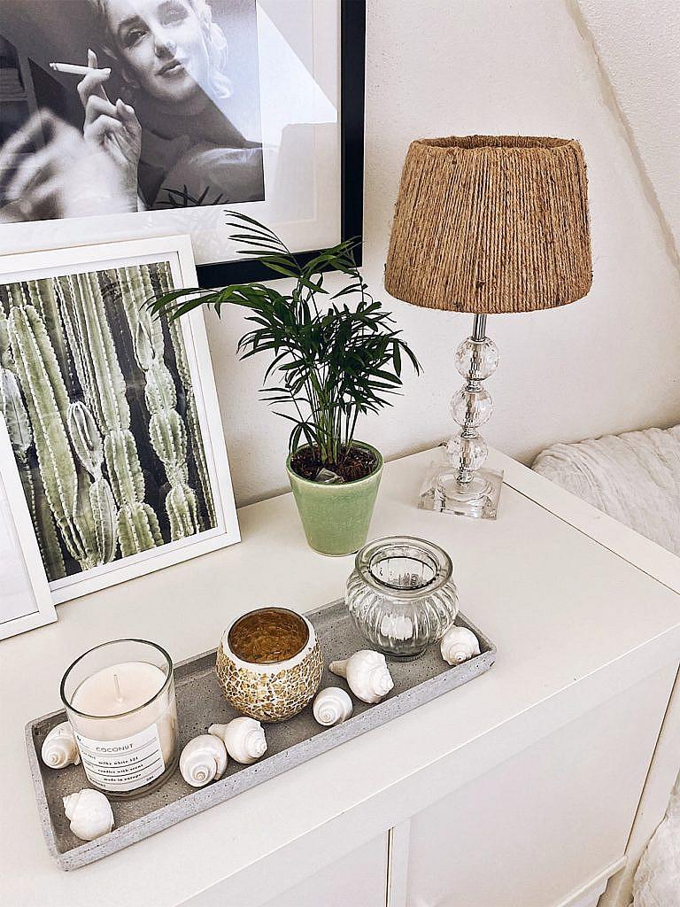 DIY - Zimmer umgestalten + Lampenschirm aus Juteseil