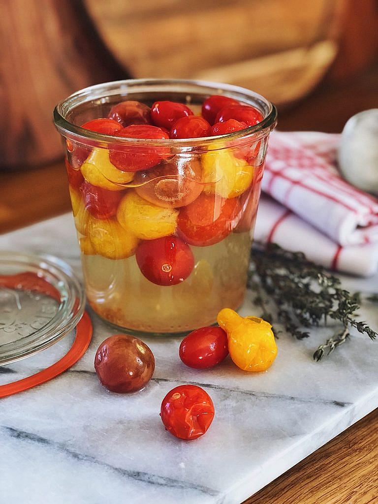 Tomaten fermentieren - so gehts!