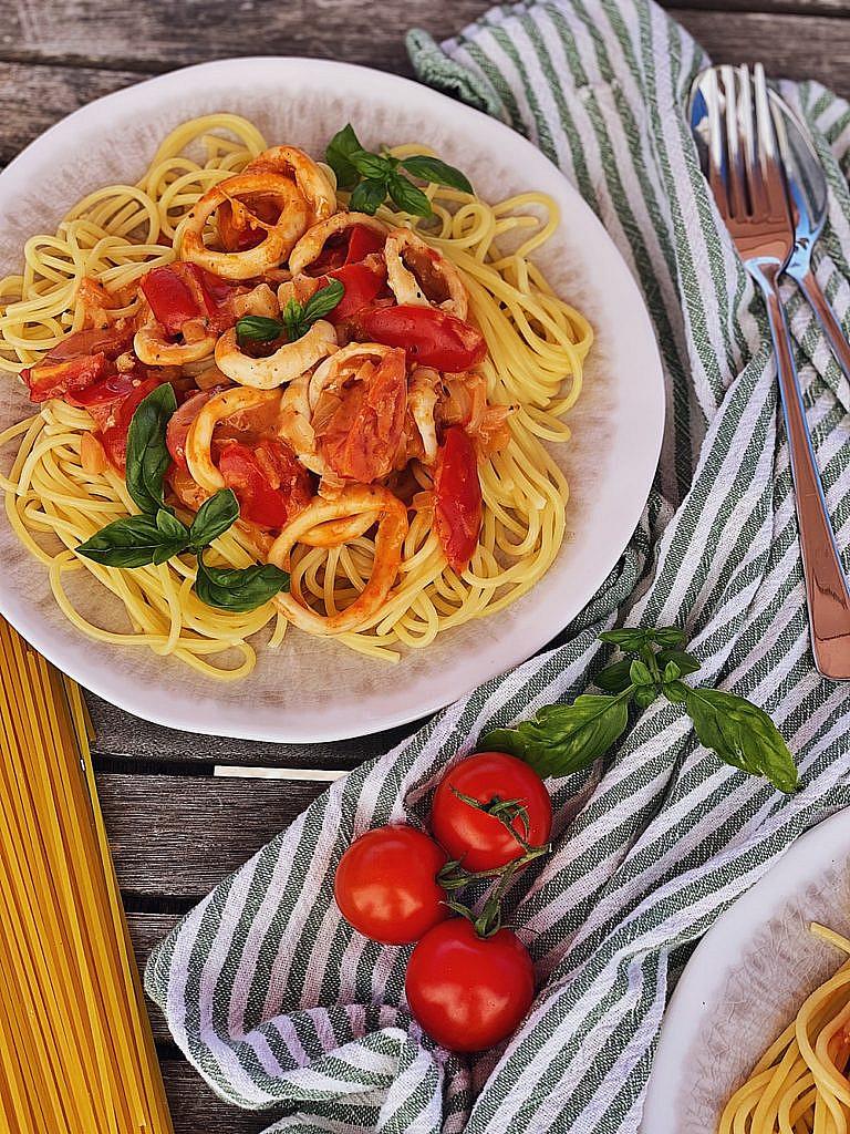 Spaghetti Meeresfrüchte - Spaghetti Frutti di Mare