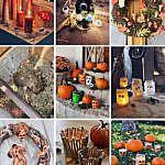 Die besten gruseligsten DIYs Halloween Herbst-Kürbis Kerzen gießen-Mumien-Spinnen-Windlichter-Augäpfel Lichterkette-Blechdosen-Kürbis-Gespenst-Frankenstein-blutige Kerzen-Grusel-Puppen Türkranz-fashionkitchen_